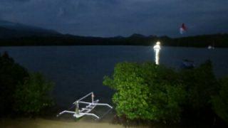 バリ島一周自転車ツーリング5日目  泉質抜群の貸切露天風呂!