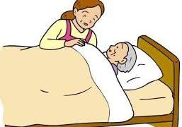 寝たきりで意識の薄れがちなお母さまの【遠隔浄化】
