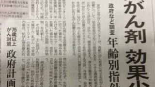 日本のがん治療の総本山【国立がんセンター】が抗癌がん剤が効かないことを認めた。
