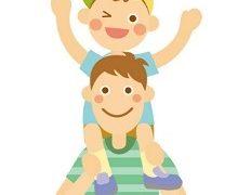 【肩車の勧め!】抱っこや肩車はお父さんの最高の筋トレだ!