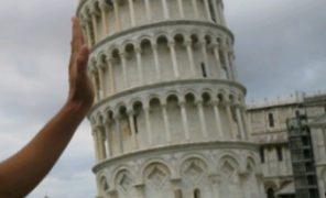 【イタリア旅行記・ピサ】パスタ「ピサの斜塔風」手作りしました!