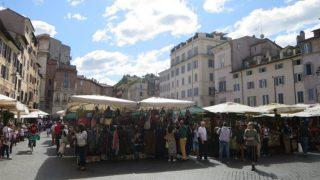 【イタリア旅行記】ローマの市場など